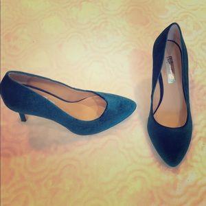 INC Velvet Heels! Worn Once!